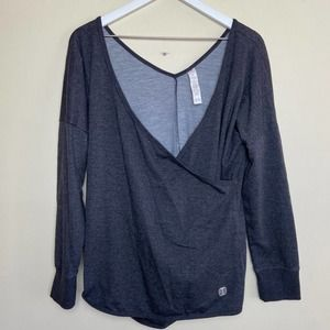 BALANCE COLLECTION Cross Front Long Sleeve Top